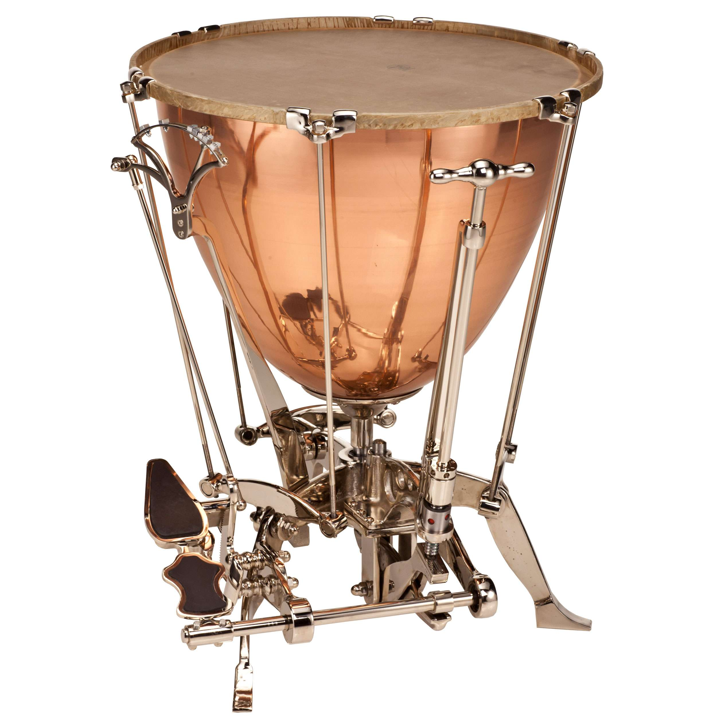 "Adams 28"" Schnellar Timpani with Kurbel (Crank) and Calfskin Head"