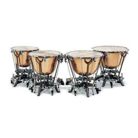 Adams Philharmonic Dresden Classic Timpani with Wheels and American Playing System