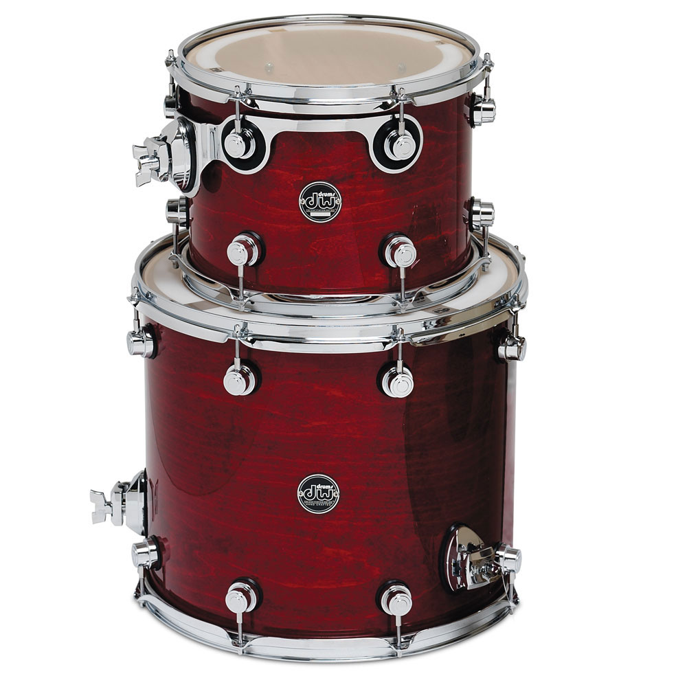 "DW Performance Series 2-Piece Tom Shell Pack (12"" Mounted,16"" Floor)"