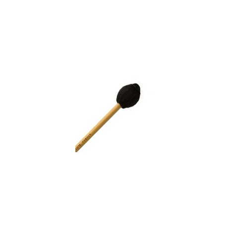 Encore Black Yarn Hard Front Ensemble Keyboard Mallets with Rattan Shafts