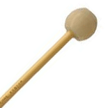 Encore Beige Latex Covered Extra Hard Rubber Keyboard Mallets with Rattan Shafts