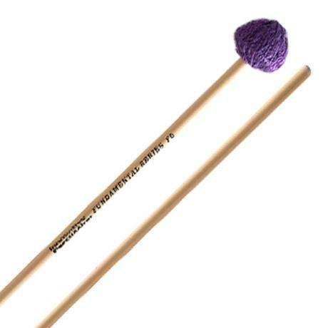 Innovative Percussion Fundamental Series Hard Vibraphone Mallets with Rattan Shafts
