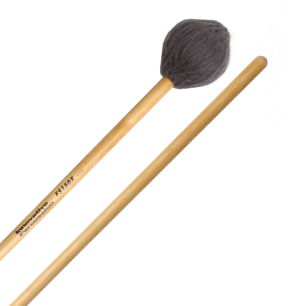Innovative Percussion FS150X Field Series Extra Heavy Soft Marimba Mallets with Birch Shafts