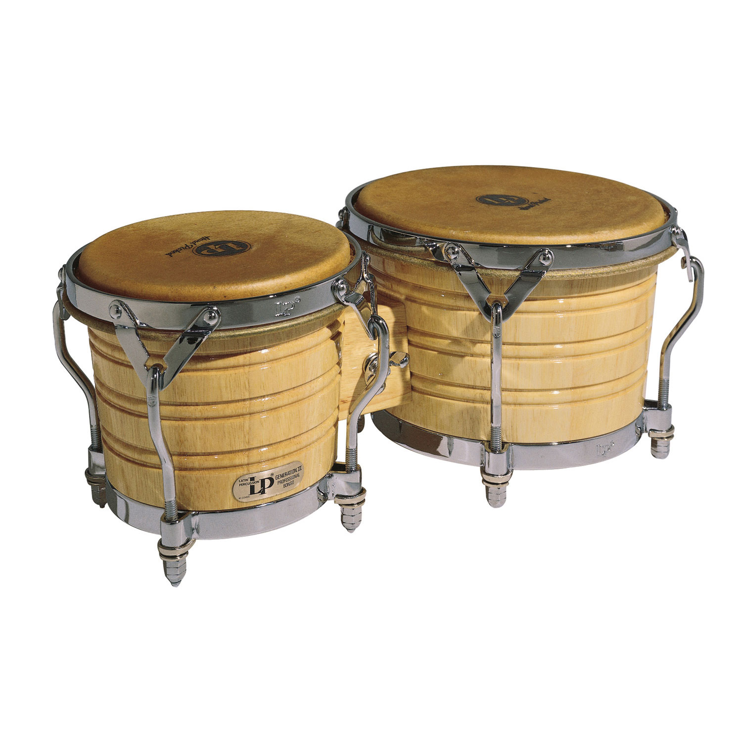 LP Generation III Wood Bongos