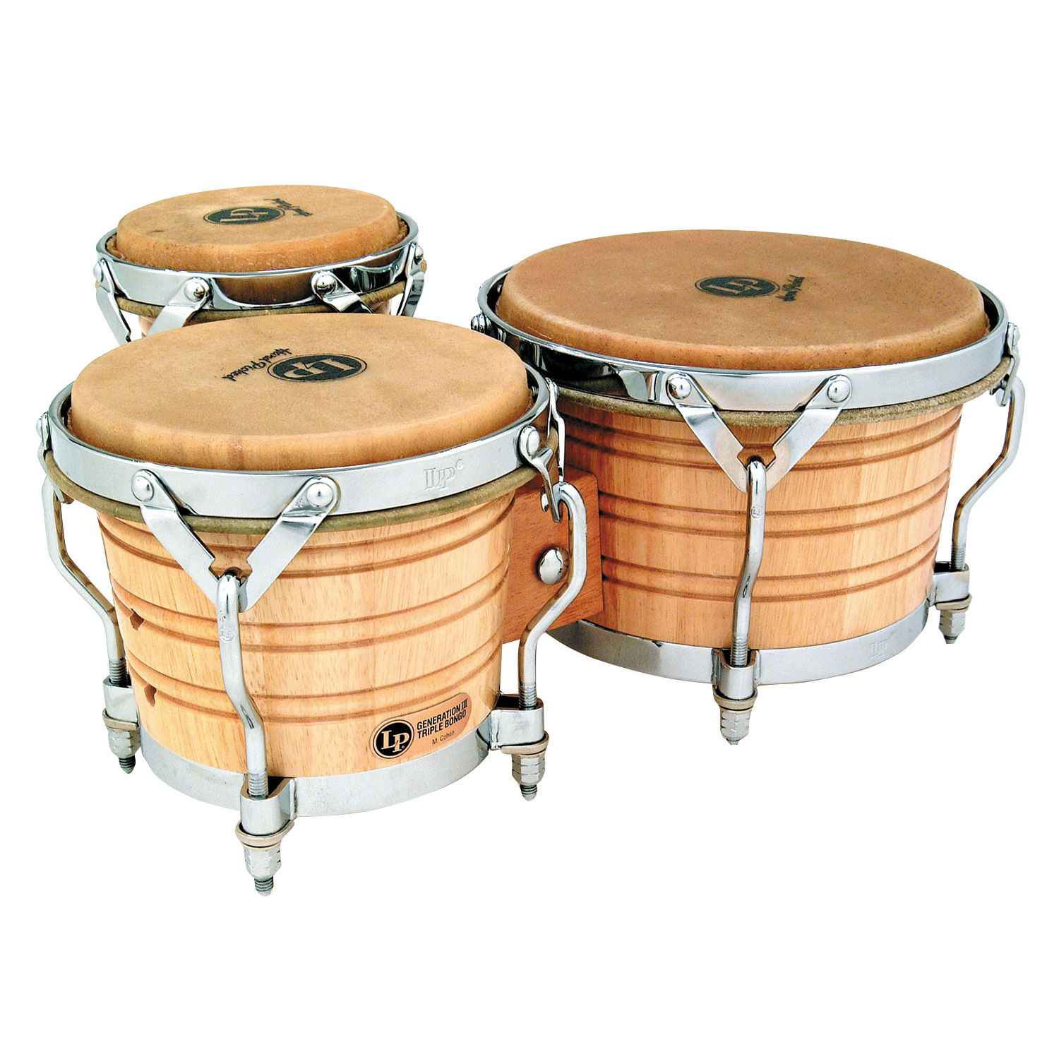 LP Generation III Triple Bongos
