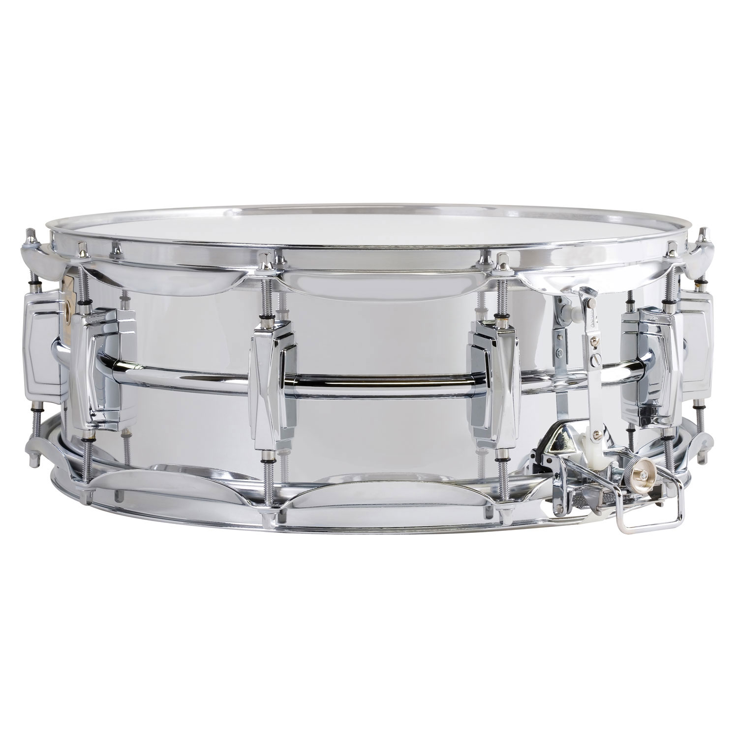 "Ludwig 5"" x 14"" Aluminum Snare Drum with Super-Sensitive Snares"