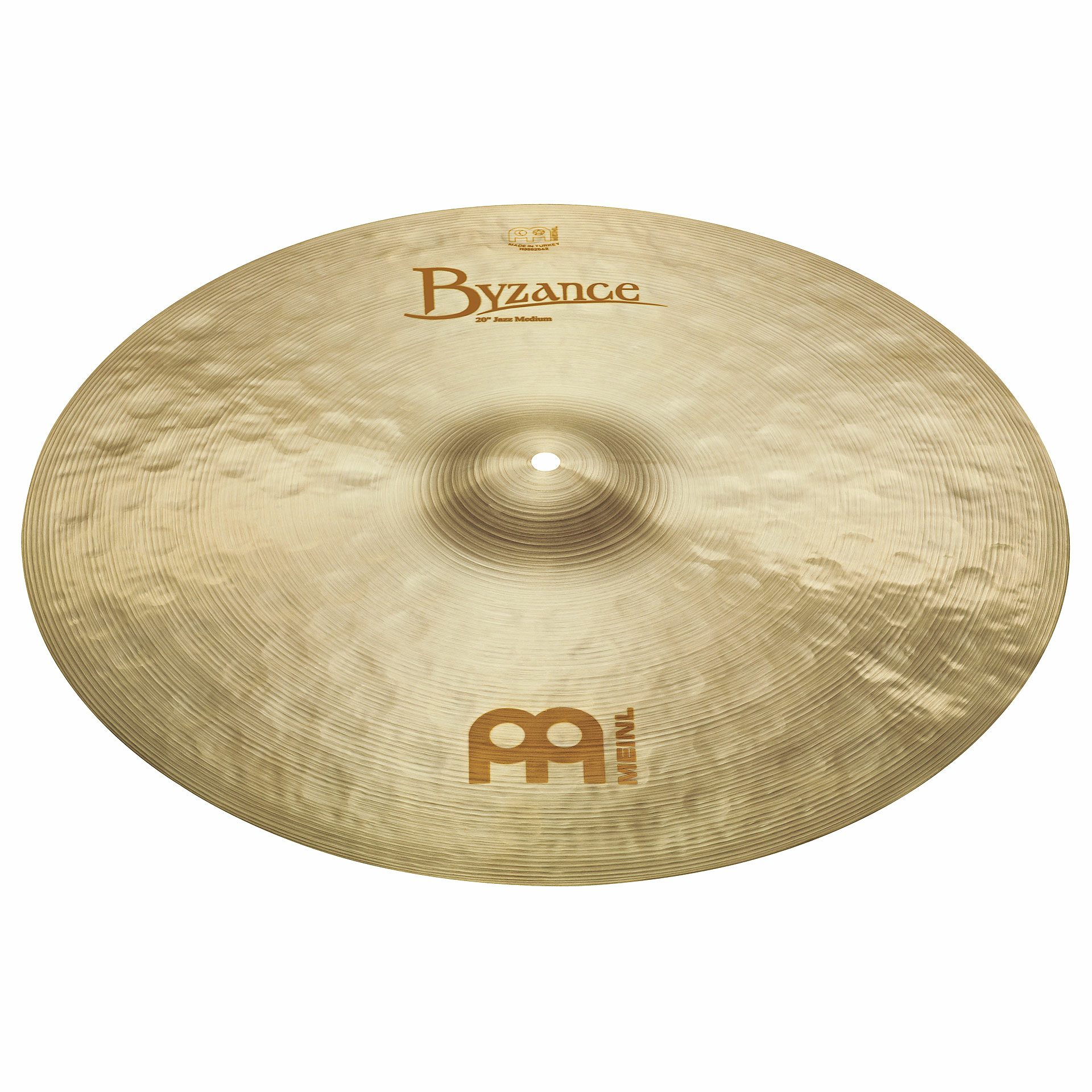 "Meinl 22"" Byzance Brilliant Jazz Big Apple Ride Cymbal"