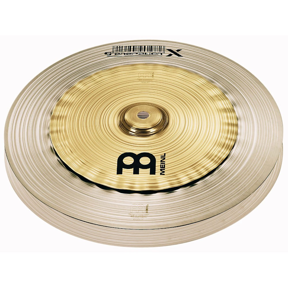 "Meinl 12"" Generation X Safari Hi Hat Cymbals"