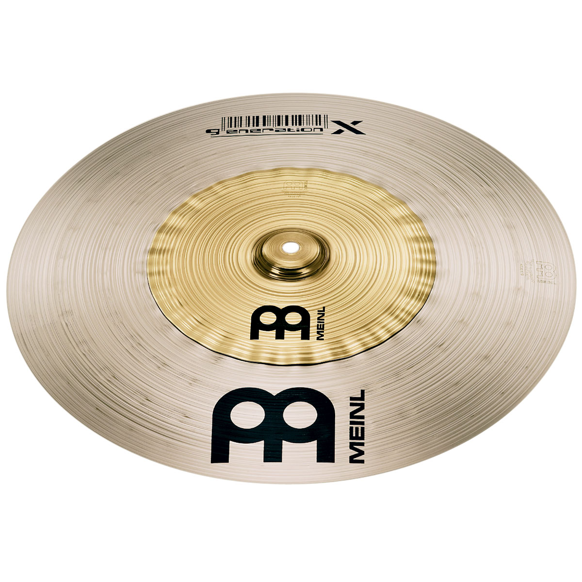 "Meinl 16"" Generation X Safari Crash Cymbal"