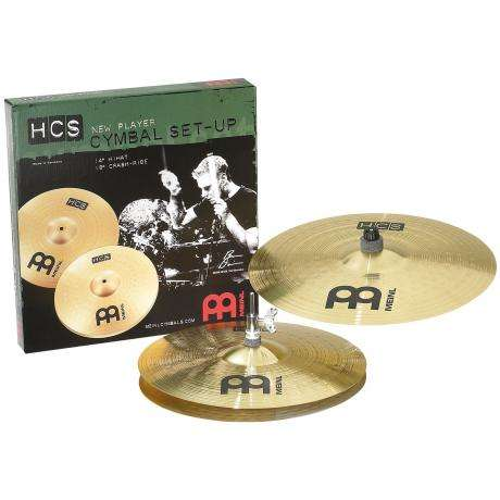 Meinl HCS 2-Piece Cymbal Box Set (Hi Hats, 18