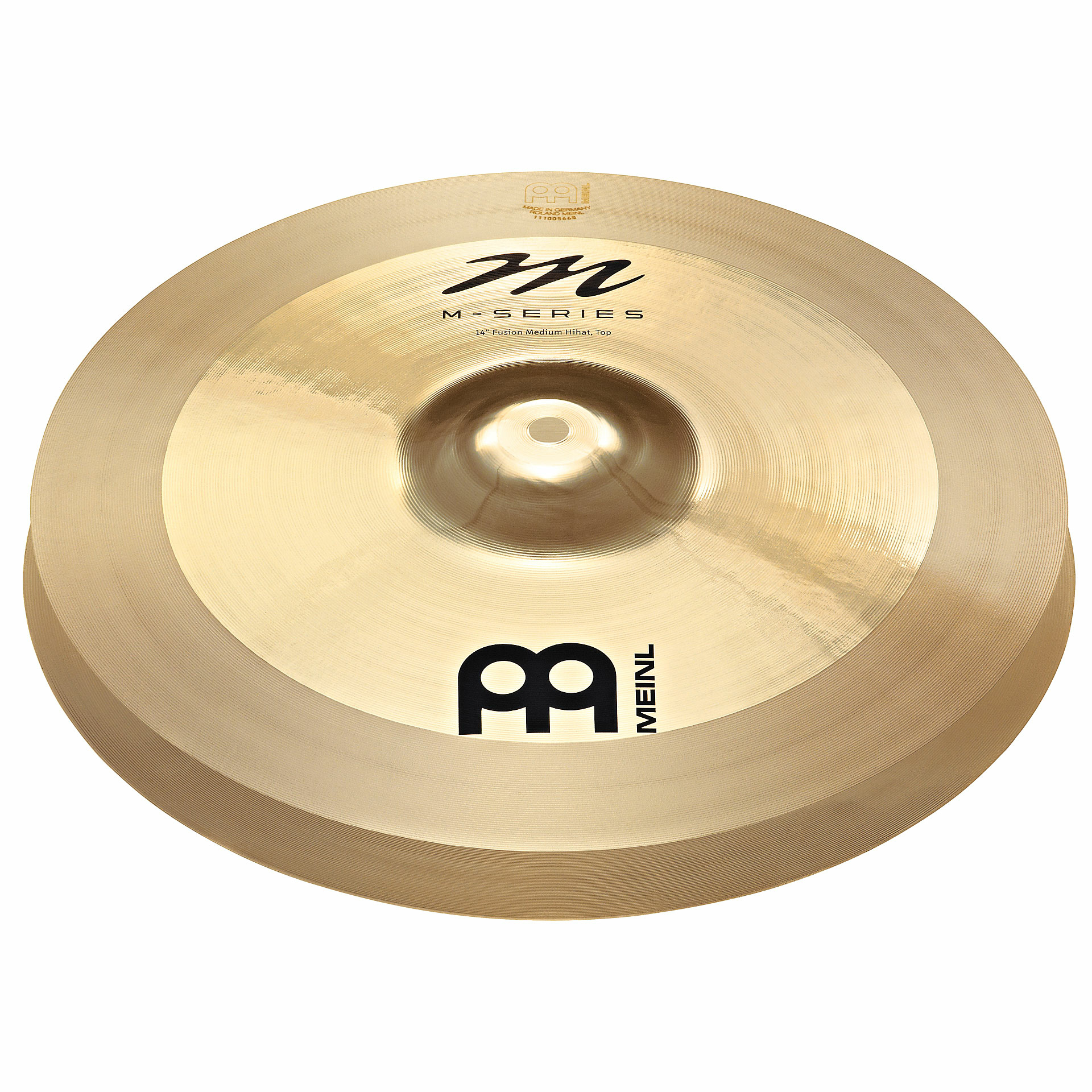 "Meinl 14"" M Series Fusion Medium Hi Hat Cymbals"