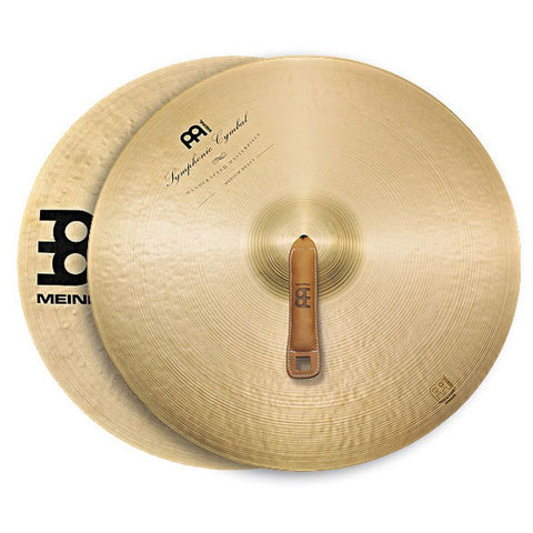 "Meinl 19"" Medium Heavy Symphonic Crash Cymbals Pair"