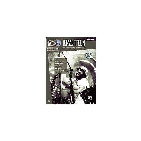 Ultimate Drum Play-Along: Led Zeppelin Volume 1 Drum Set Book