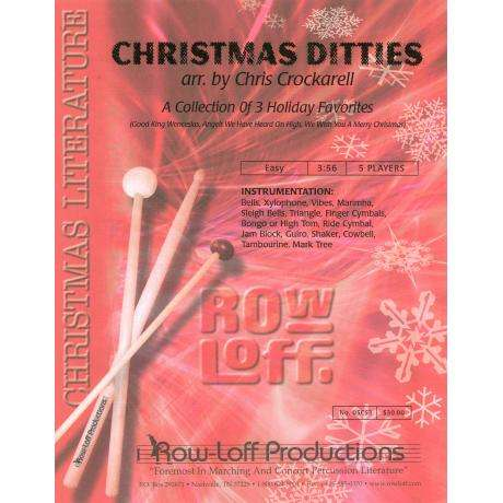 Christmas Ditties arr. by Chris Crockarell