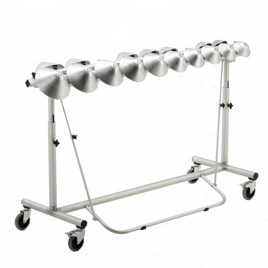 Aluphone Concert Bells with Damper and Frame