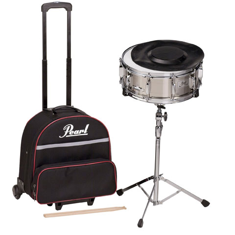 Pearl Beginner Snare Kit with Pull Along Cart