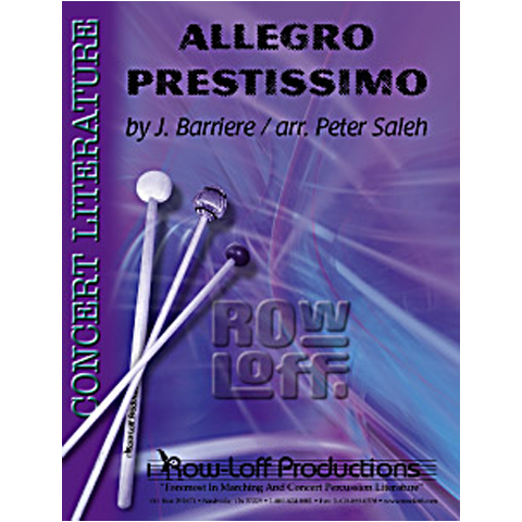 Allegro Prestissimo by Barriere arr. Saleh