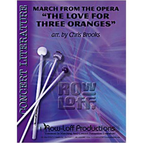 March from 'The Love for Three Oranges' by Prokofiev arr. Brooks