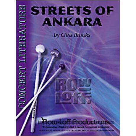 Streets of Ankara by Chris Brooks