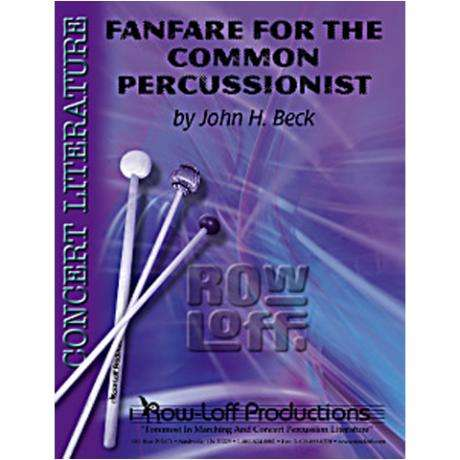 Fanfare for the Common Percussionist by John Beck