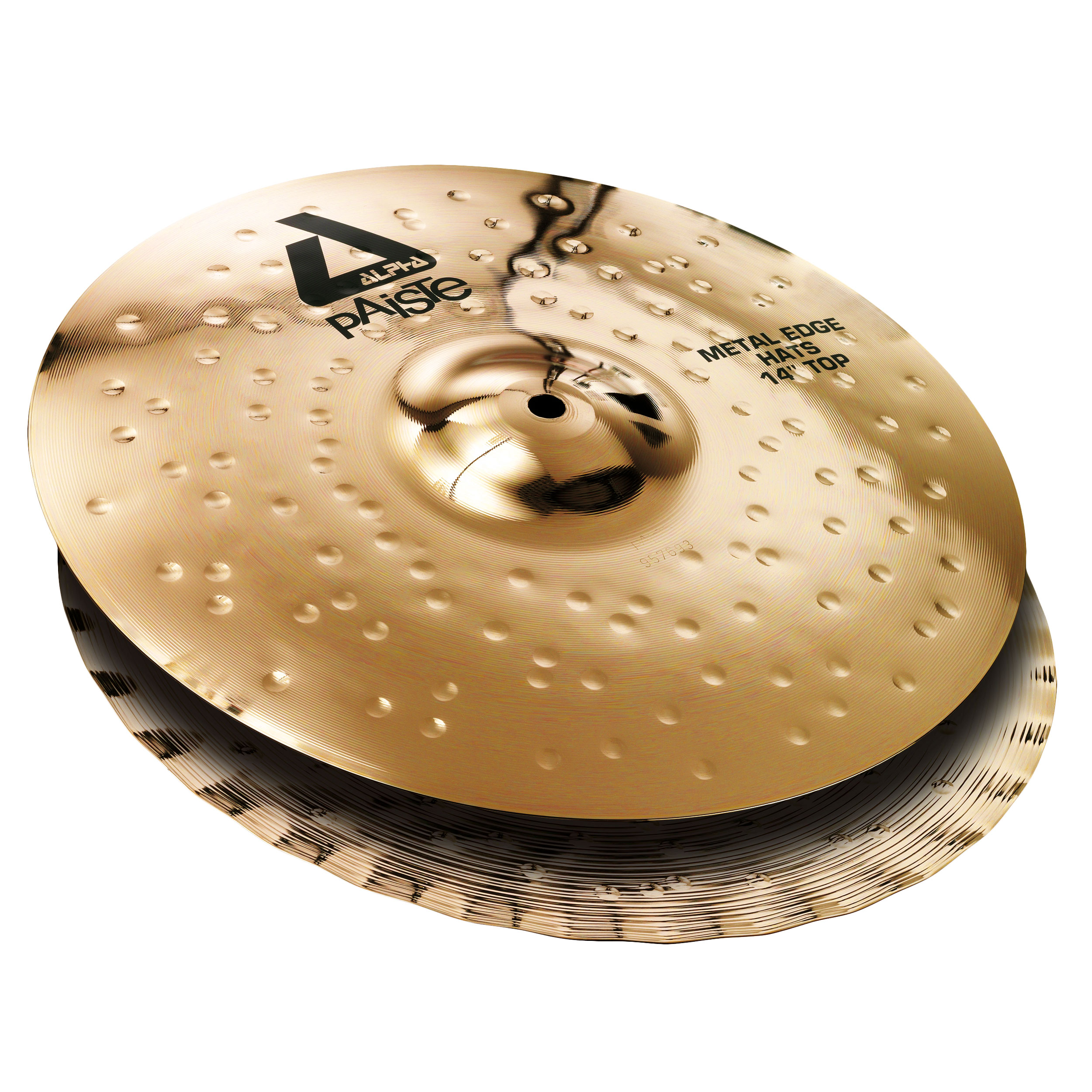 "Paiste 14"" Alpha Metal Edge Hi Hat Cymbals"