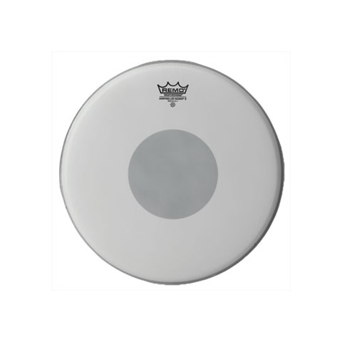 """Remo 10"""" Controlled Sound X Coated Drum Head with Black Dot"""