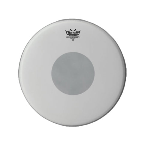 """Remo 12"""" Controlled Sound X Coated Drum Head with Black Dot"""