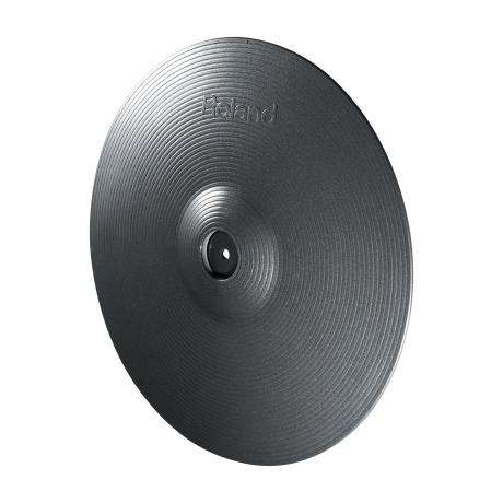Roland V-Cymbal Crash Cymbal for TD-30KV, Metallic Grey