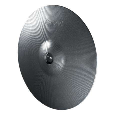 Roland V-Cymbal Ride Cymbal for TD-30KV, Metallic Grey