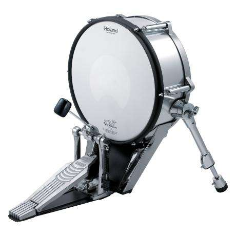 Roland V-Kick Electronic Bass Drum, Black Chrome