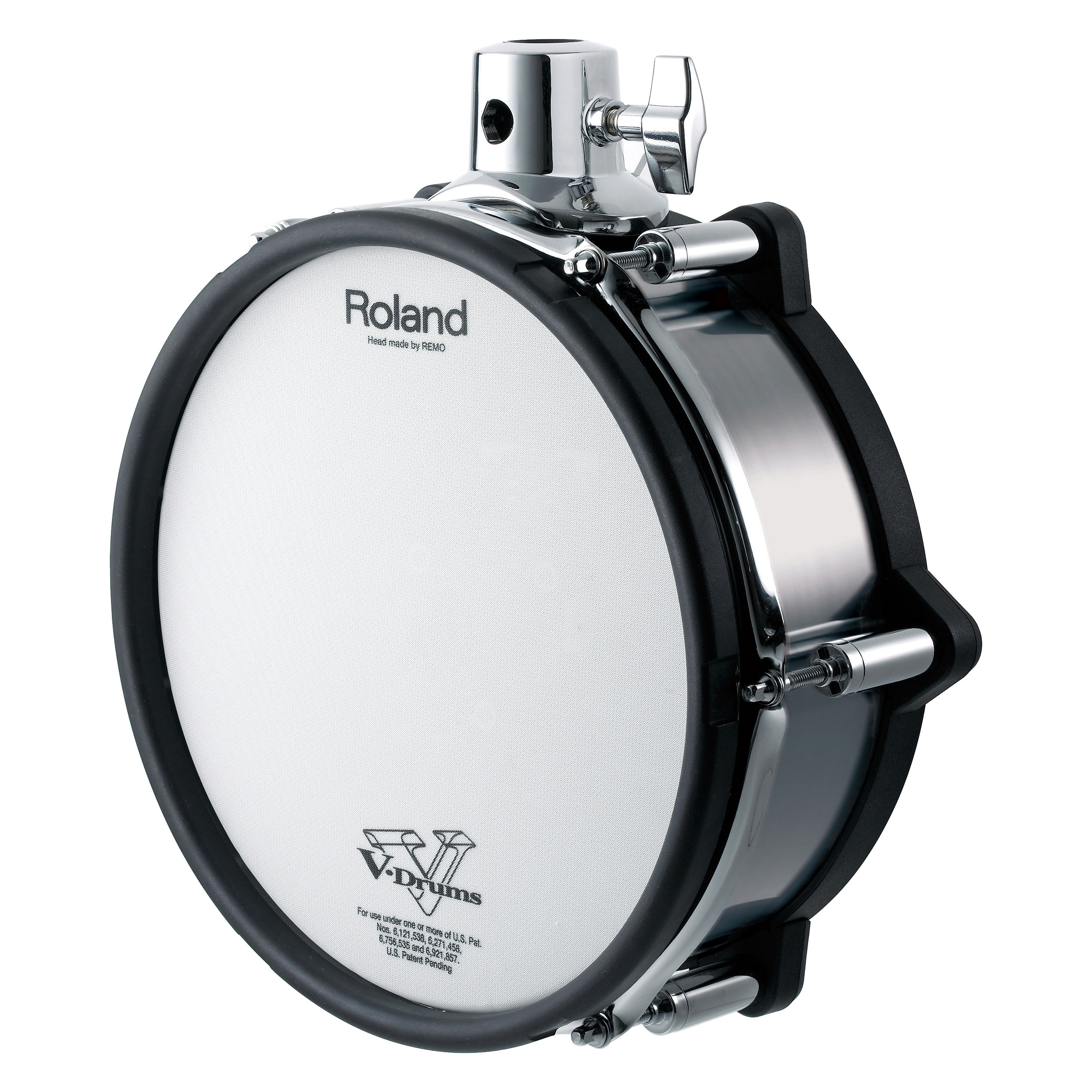 "Roland 10"" V-Pad Tom for TD-30KV, Black Chrome"