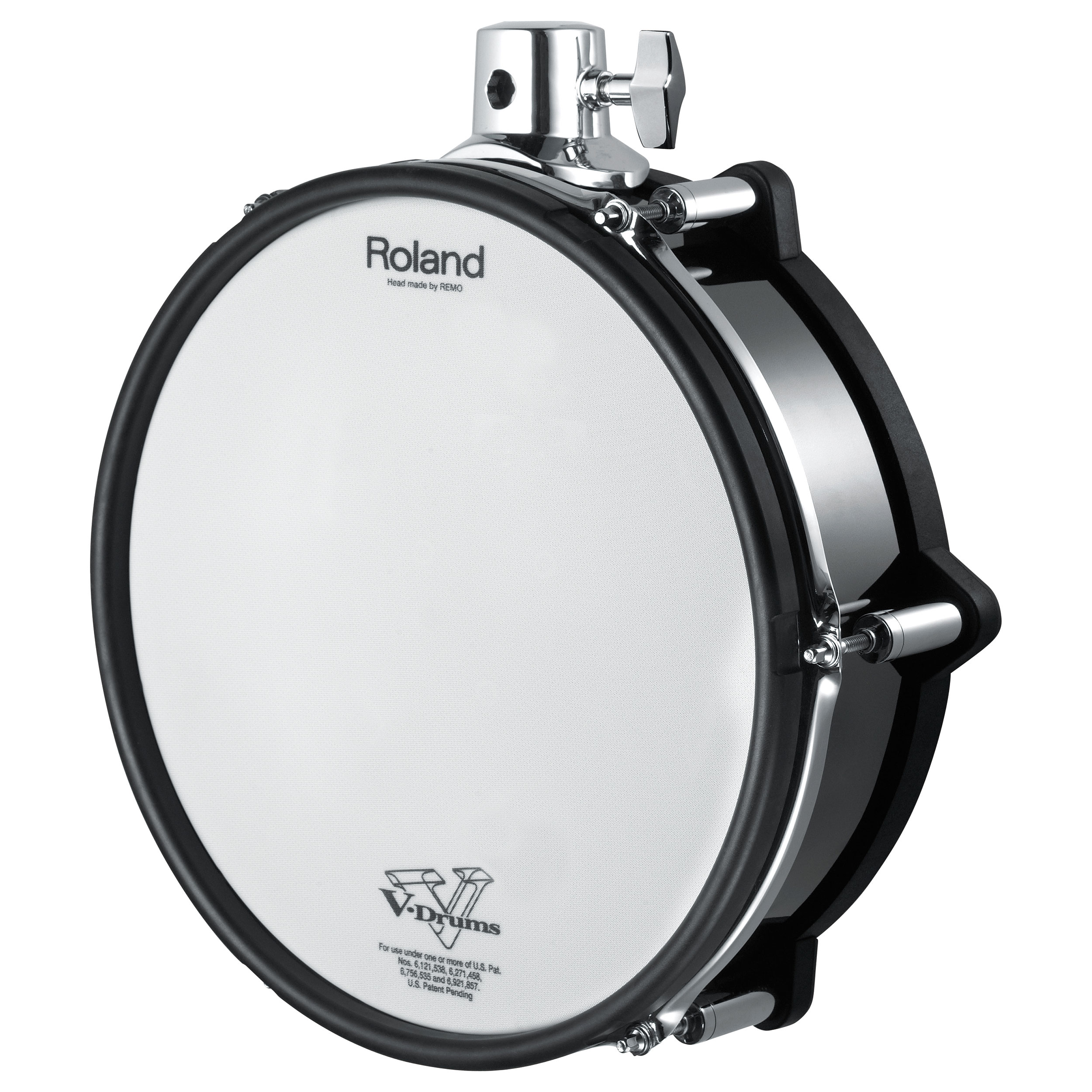 "Roland 12"" V-Pad Tom for TD-30KV, Black Chrome"