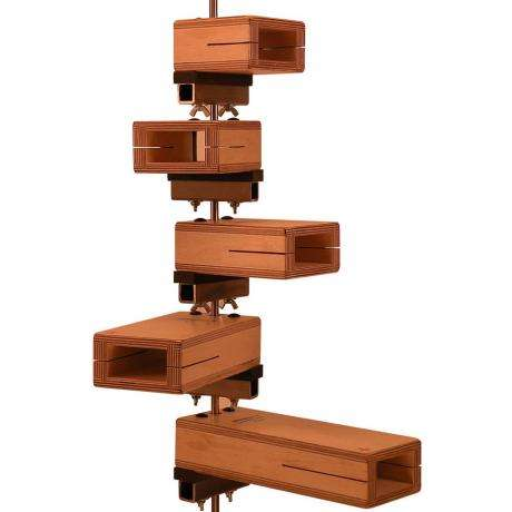 Ron Vaughn 5-Piece Pentatonic Vertical Temple Blocks