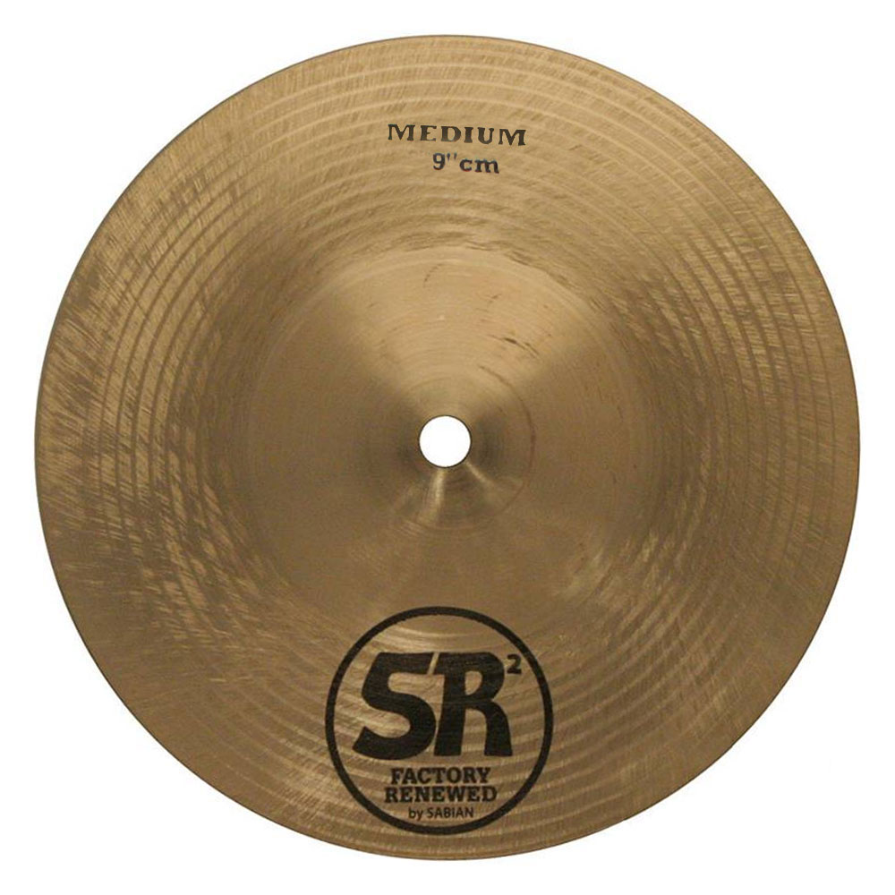 "Sabian 9"" SR2 Medium Cymbal"