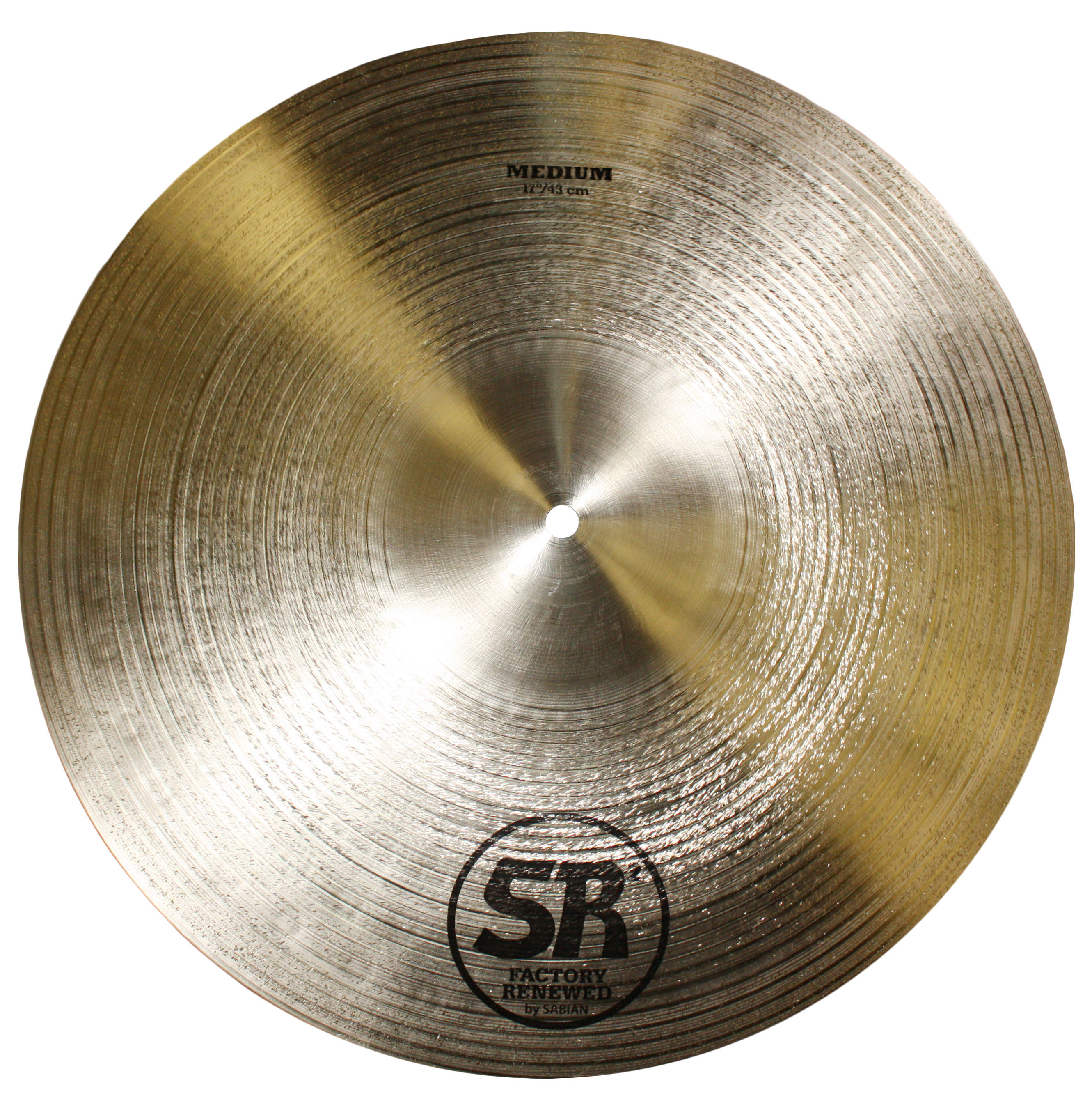 "Sabian 17"" SR2 Medium Cymbal"