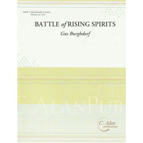 Battle of Rising Spirits by Gus Burghdorf