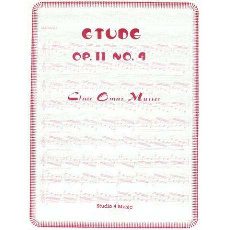 Etude Op. 11 No. 4 by Clair Omar Musser