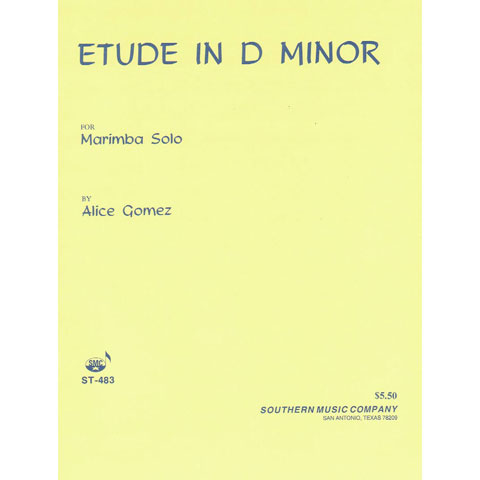 Etude in D Minor by Alice Gomez