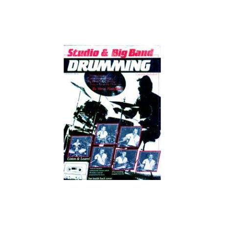 Studio & Big Band Drumming Book and CD by Steve Houghton