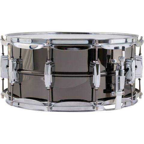 "Ludwig 6.5"" x 14"" Black Beauty Brass Snare Drum with Imperial Lugs and Chrome Hardware"