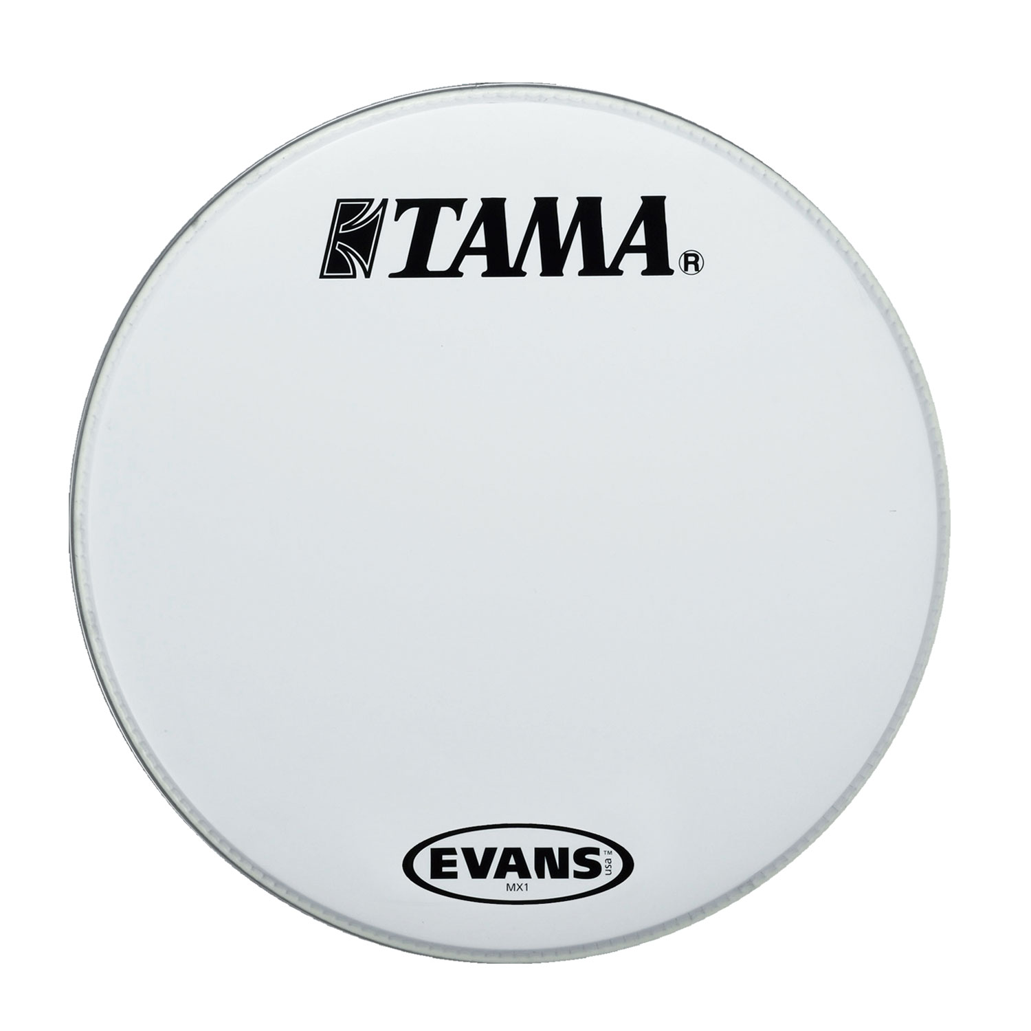 "Tama 22"" MX1 White Bass Head"