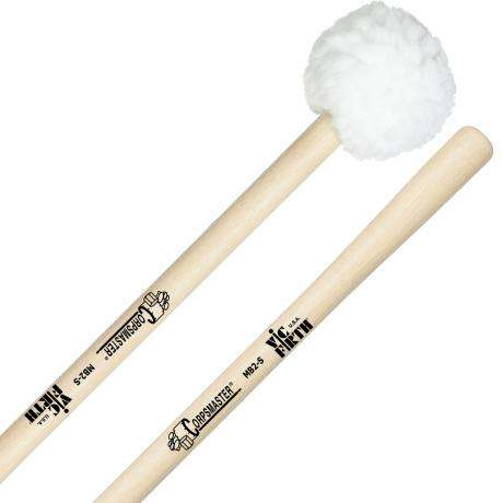 Vic Firth MB2S Corpsmaster Medium Puff Marching Bass Drum Mallets