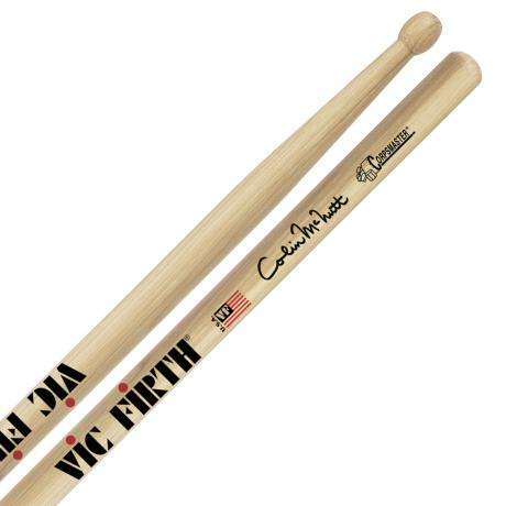 Vic Firth SCM Colin McNutt Corpsmaster Signature Marching Snare Sticks