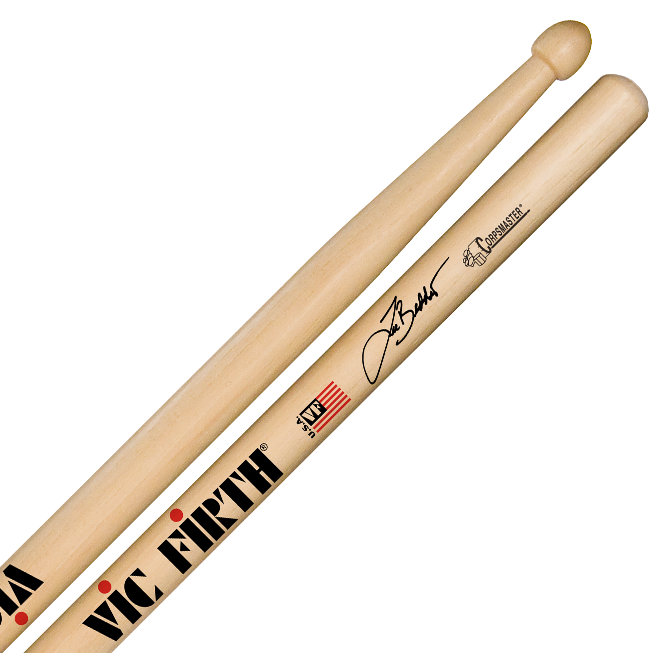 Vic Firth SLB Lee Beddis Corpsmaster Signature Marching Snare Sticks