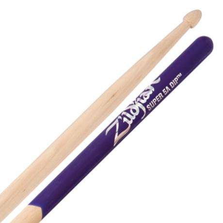 Zildjian Dip Series Super 5A Wood Tip Purple Drumsticks