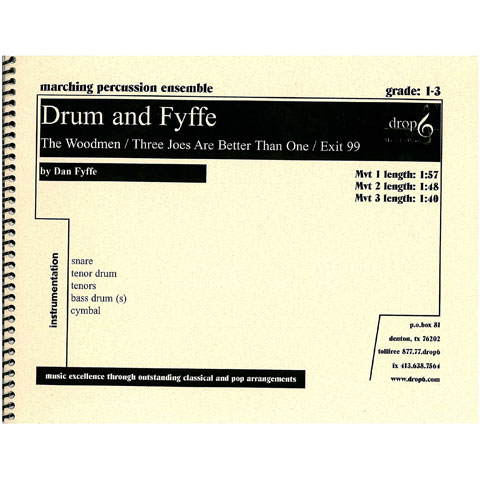 Drum and Fyffe Cadence Collection by Dan Fyffe