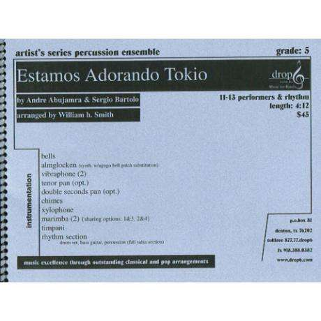 Estamos Adorando Tokio by Andre Abujamra and Sergio Bartolo arr. Smith