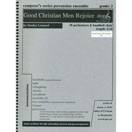 Good Christian Men Rejoice by Stanley Leonard