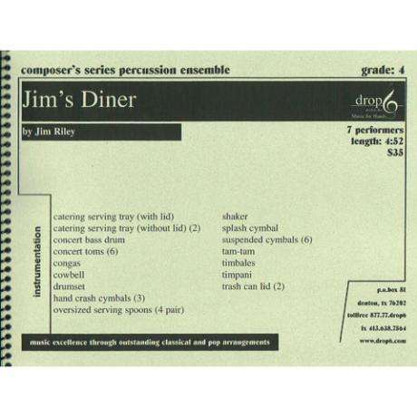 Jim's Diner by Jim Riley
