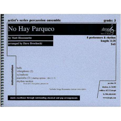 No Hay Parqueo by Matt Bissonnette arr. Dave Brochocki